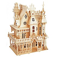 cheap Toy & Game-Wooden Puzzle / Logic & Puzzle Toy Fairytale Theme / Castle School / Professional Level / Stress and Anxiety Relief Wooden 1 pcs Teen / Children's All Gift
