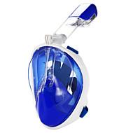 abordables Deportes Acuáticos-Buceo Máscaras / Máscara de esnórquel Anti vaho, Máscaras de Cara Completa, Submarino Ventanilla Única - Natación, Buceo Silicona,