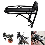 cheap Cycling & Bike Accessories-Bike Rack Adjustable / Lightweight / Easy to Install Aluminum Alloy Road Cycling / Cycling / Bike / Folding Bike - Black