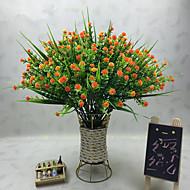 abordables Flores Artificiales-Flores Artificiales 1 Rama Clásico Modern Plantas Flor de Mesa