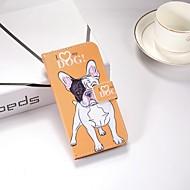 Недорогие Чехлы и кейсы для Galaxy S9-Кейс для Назначение SSamsung Galaxy S9 Plus / S9 Кошелек / со стендом / Флип Чехол С собакой Твердый Кожа PU для S9 / S9 Plus / S8 Plus
