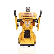お買い得  -MINGYUAN 自動車おもちゃ レーシングカー 車 変形可能な ポリプロピレン+ABS樹脂 子供 フリーサイズ 男の子 女の子 おもちゃ ギフト 1 pcs