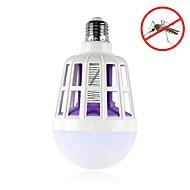 お買い得  LED ボール型電球-1pc 2 15wの電球の蚊ランプを殺して175-265v電気トラップ蚊キラー光屋外キャンプ夜のsleeppingランプ