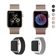 시계 밴드 용 Apple Watch Series 4/3/2/1 Apple 밀라노 루프 스테인레스 스틸 손목 스트랩