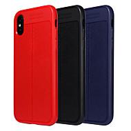 Недорогие Кейсы для iPhone 8-Кейс для Назначение Apple iPhone X / iPhone 8 Plus Защита от удара / Защита от пыли Чехол Однотонный Мягкий ТПУ для iPhone X / iPhone 8 Pluss / iPhone 8