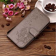 Недорогие Чехлы и кейсы для Galaxy S-Кейс для Назначение SSamsung Galaxy S9 Plus / S9 Кошелек / Бумажник для карт / со стендом Чехол одуванчик Твердый Кожа PU для S9 / S9 Plus / S8 Plus