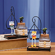 cheap -1pc Resin Modern / Contemporary for Home Decoration, Gifts / Home Decorations Gifts