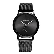 cheap -Women's Dress Watch Chinese Chronograph / Creative Stainless Steel Band Fashion Black / Silver / Gold