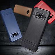 Недорогие Чехлы и кейсы для Galaxy S7 Edge-Кейс для Назначение SSamsung Galaxy S9 Plus / S8 Plus Матовое Кейс на заднюю панель Однотонный Мягкий ТПУ для S9 / S8 / S7 edge