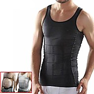 cheap Exercise & Fitness-Waist Trainer Vest / Body Shaper With Nylon Stretchy Weight Loss For Men Exercise & Fitness / Bodybuilding Waist Sports Outdoor / Home / Office