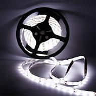 お買い得  -5m フレキシブルLEDライトストリップ 300 LED SMD5630 温白色 / クールホワイト 防水 / カット可能 / 接続可 12 V 1個 / ノンテープ・タイプ
