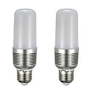 お買い得  LED コーン型電球-2pcs 12 W 1100 lm E26 / E27 LEDコーン型電球 T 43 LEDビーズ SMD 5730 新デザイン 温白色 / ホワイト 85-265 V