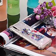 preiswerte Handyhüllen-Hülle Für Huawei P20 / P20 Pro Stoßresistent / Mit Flüssigkeit befüllt / Muster Rückseite Tier Weich TPU für Huawei P20 / Huawei P20 Pro / Huawei P20 lite