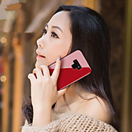 Недорогие Чехлы и кейсы для Galaxy Note-Кейс для Назначение SSamsung Galaxy Note 9 / Note 8 Зеркальная поверхность Кейс на заднюю панель Однотонный Твердый Закаленное стекло для Note 9 / Note 8