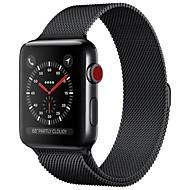 ステンレス 時計バンド ストラップ のために Apple Watch Series 3 / 2 / 1 ブラック / ブルー / シルバー 23センチメートル / 9インチ 2.1cm / 0.83 Inch