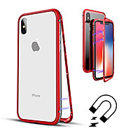 Case For Apple iPhone XR / iPhone XS Max Translucent Full Body Cases Solid Colored Hard Tempered Glass for iPhone XS / iPhone XR / iPhone XS Max