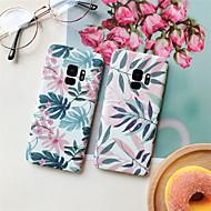 Недорогие Чехлы и кейсы для Galaxy S-Кейс для Назначение SSamsung Galaxy S9 Plus / S8 Plus С узором Кейс на заднюю панель Растения Твердый ПК для S9 / S9 Plus / S8 Plus