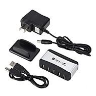 preiswerte USB Hubs & Switches-7 USB-Hub EU Stecker / US Stecker USB 2.0 Cool Daten-Hub