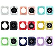 Kılıf Na Apple Watch Apple Watch Series 4/3/2/1 Silikon Jabłko