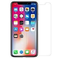 Недорогие Защитные плёнки для экрана iPhone-Защитная плёнка для экрана для Apple iPhone XS / iPhone X PET 1 ед. Защитная пленка для экрана и задней панели Ультратонкий / Матовое стекло / Защита от царапин