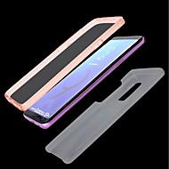 Недорогие Чехлы и кейсы для Galaxy S8 Plus-Кейс для Назначение SSamsung Galaxy S9 Plus / S9 Прозрачный Чехол Однотонный Твердый ТПУ для S9 / S9 Plus / S8 Plus