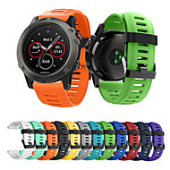 abordables -bande smartwatch pour garmin descente mk1 / fenix 3 / fenix 3h bande de sport en silicone bracelet souple mode quatix