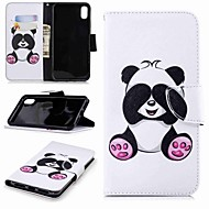 cheap -Case For Apple iPhone XR / iPhone XS Max Wallet / Card Holder / with Stand Full Body Cases Panda Hard PU Leather for iPhone XS / iPhone XR / iPhone XS Max