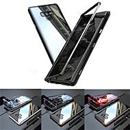 Недорогие Чехлы и кейсы для Galaxy Note-Кейс для Назначение SSamsung Galaxy Note 9 / Note 8 Полупрозрачный Чехол Однотонный Твердый Закаленное стекло для Note 9 / Note 8