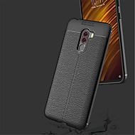 Case Kompatibilitás Xiaomi Xiaomi Pocophone F1 / Mi 8 Ütésálló Fekete tok Egyszínű Puha TPU mert Xiaomi Pocophone F1 / Xiaomi Mi 8 / Xiaomi Mi 8 SE
