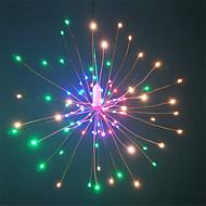 お買い得  -HKV 0.2m ストリングライト 120 LED SMD 0603 1 13キーリモコン 温白色 / RGB +ウォーム 防水 / パーティー / 装飾用 単3乾電池 1セット