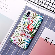Недорогие Кейсы для iPhone 8 Plus-Кейс для Назначение Apple iPhone XR / iPhone XS Max С узором Кейс на заднюю панель Фламинго Твердый ПК для iPhone XS / iPhone XR / iPhone XS Max