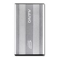 お買い得  -MAIWO ハードドライブエンクロージャ アルミニウム合金 USB 3.0 K2501银色
