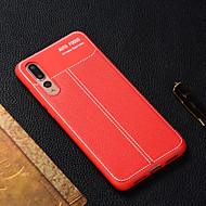 preiswerte Handyhüllen-Hülle Für Huawei P20 lite / P smart Durchscheinend Rückseite Solide Weich TPU für Huawei P20 / Huawei P20 Pro / Huawei P20 lite