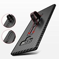 Недорогие Чехлы и кейсы для Galaxy Note 8-Кейс для Назначение SSamsung Galaxy Note 9 / Note 8 со стендом / Ультратонкий Кейс на заднюю панель Однотонный Мягкий ТПУ для Note 9 / Note 8