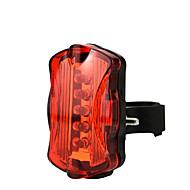 preiswerte Taschenlampen, Laternen & Lichter-Fahrradrücklicht LED Radlichter Radsport Wasserfest, Schnellspanner, Leicht Li-Ionen 50 lm AAA Rot Camping / Wandern / Erkundungen / Radsport