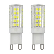abordables Luces LED de Doble Pin-2pcs 3 W 245 lm G9 Luces LED de Doble Pin T 64 Cuentas LED SMD 2835 Decorativa Blanco Cálido / Blanco Fresco 220-240 V