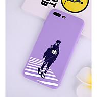 Недорогие Кейсы для iPhone 8 Plus-Кейс для Назначение Apple iPhone X / iPhone 7 С узором Кейс на заднюю панель Полосы / волосы Мягкий ТПУ для iPhone XS / iPhone X / iPhone 8 Pluss