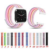 Horlogeband voor Fitbit Versa Fitbit Sportband Nylon Polsband