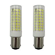 お買い得  LED コーン型電球-2pcs 5 W 460 lm BA15D LEDコーン型電球 102 LEDビーズ SMD 2835 温白色 / クールホワイト 110-130 V