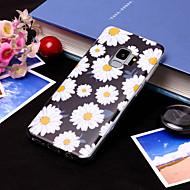 Недорогие Чехлы и кейсы для Galaxy S9-Кейс для Назначение SSamsung Galaxy S9 Plus / S9 IMD / С узором Кейс на заднюю панель Цветы Мягкий ТПУ для S9 / S9 Plus / S8 Plus