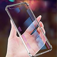 Недорогие Кейсы для iPhone 8-Кейс для Назначение Apple iPhone XR / iPhone XS Max Защита от удара / Защита от пыли / Ультратонкий Кейс на заднюю панель Однотонный Мягкий ТПУ для iPhone XS / iPhone XR / iPhone XS Max