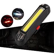 preiswerte Taschenlampen, Laternen & Lichter-Fahrradrücklicht LED Radlichter Radsport Wasserfest, Tragbar, Verstellbar Wiederaufladbare Li-Ion Batterie 100 lm Weiß / Rot Radsport / Jagd / Angeln