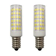 お買い得  LED コーン型電球-4wミニe14 ledコーンライト2835 smd 78 led for home lightingシャンデリア冷蔵庫ac 220-240v暖かく/冷たい白(2個)