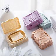 abordables Artículos para el Hogar-Jaboneras y Soportes Creativo Modern Plásticos 1pc - Baño Sencilla
