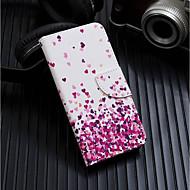 Недорогие Кейсы для iPhone 8-Кейс для Назначение Apple iPhone XR / iPhone XS Max Кошелек / Бумажник для карт / со стендом Чехол С сердцем Твердый Кожа PU для iPhone XS / iPhone XR / iPhone XS Max