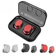 お買い得  -Factory OEM TWS-8 耳の中 ワイヤレス ヘッドホン イヤホン ポリプロピレン+ABS樹脂 携帯電話 イヤホン マイク付き / 充電ボックス付き ヘッドセット
