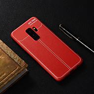 Недорогие Чехлы и кейсы для Galaxy S7-Кейс для Назначение SSamsung Galaxy S9 Plus / S9 Полупрозрачный Кейс на заднюю панель Однотонный Мягкий ТПУ для S9 / S9 Plus / S8 Plus