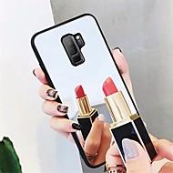 Недорогие Чехлы и кейсы для Galaxy S8-Кейс для Назначение SSamsung Galaxy S9 Plus / S9 Зеркальная поверхность Кейс на заднюю панель Однотонный Твердый Закаленное стекло для S9 / S9 Plus / S8 Plus