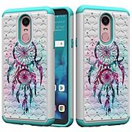 preiswerte Handyhüllen-Hülle Für LG K10 2018 / G7 Stoßresistent / Strass / Muster Rückseite Traumfänger / Strass Hart PC für LG Stylo 4 / LG G7 ThinQ / LG G6