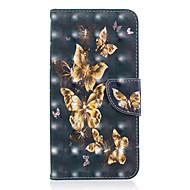 preiswerte Handyhüllen-Hülle Für Xiaomi Redmi Note 5 Pro / Xiaomi Redmi Note 6 Geldbeutel / Kreditkartenfächer / mit Halterung Ganzkörper-Gehäuse Schmetterling Hart PU-Leder für Redmi Note 5A / Xiaomi Redmi Note 5 Pro